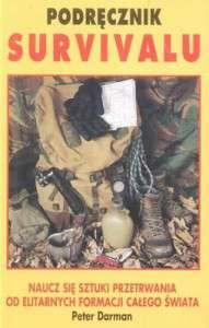 podręcznik survivalu, Książki o survivalu