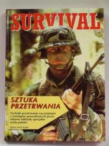 Survival, Sztuka przetrwania, Książki o survivalu